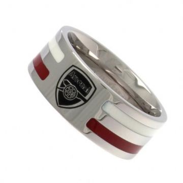 Arsenal Ring with Colour Stripe - Large